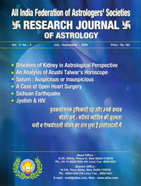 Medical Astrology and Divisional Charts Issue