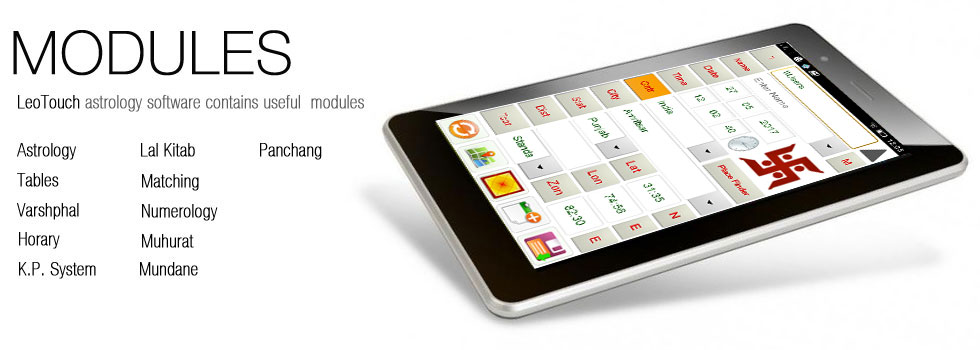 Astrology Software LeoTouch Packages