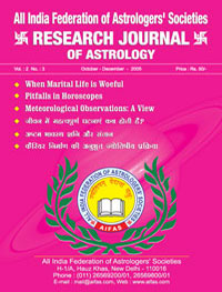 Use of Astrology for Cure of Diseases