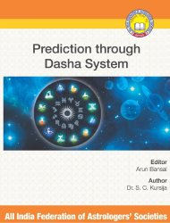 Prediction Through Dasha System