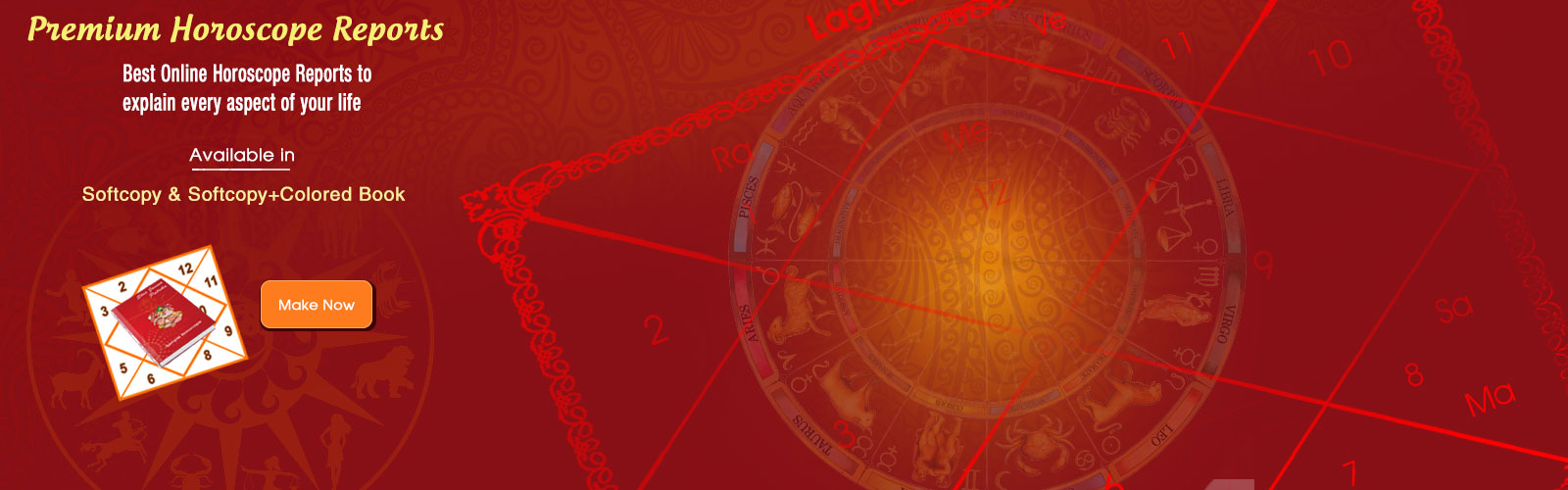 Premium horoscope: detail prediction covering all aspect of life
