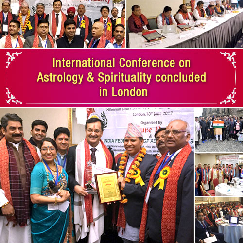 International Conference on Astrology & Spirituality concluded in London