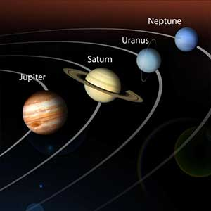 Information about 9 planets