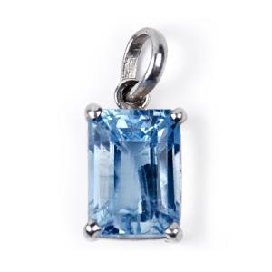 Blue Topaz Locket