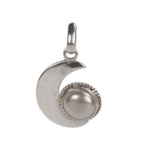 Pearl Moon Locket-1