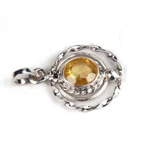 Sunehla Locket in round shaped