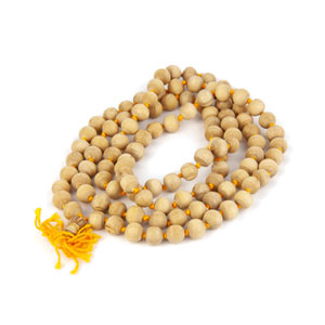 White Chandan Mala
