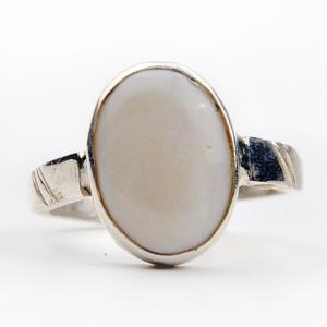 Opal Silver Ring-1