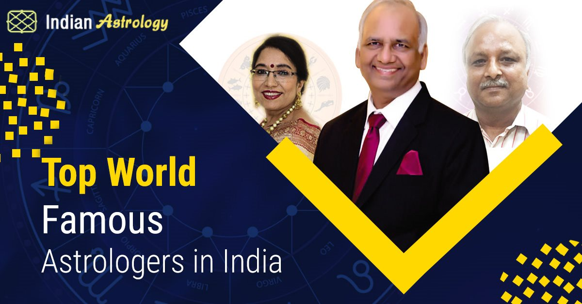 Top 6 World Famous Astrologers in India