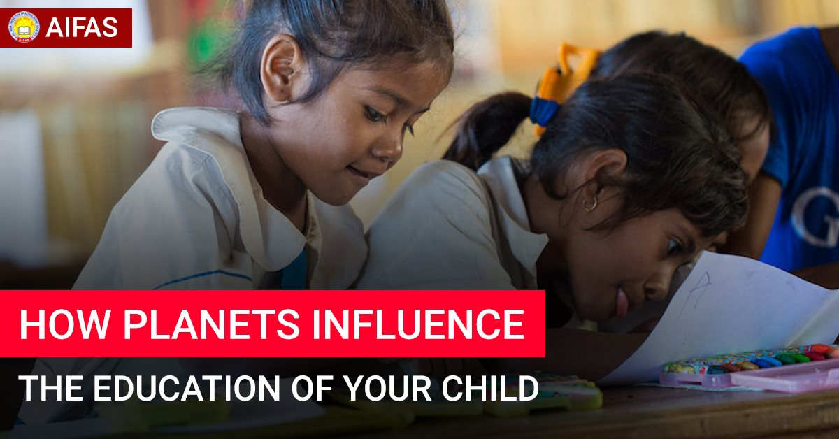 How Planets Influence the Education of Your Child