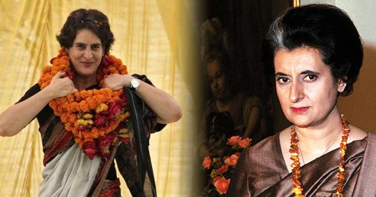 प्रियंका गांधी - इंदिरा की फोटोकॉपी