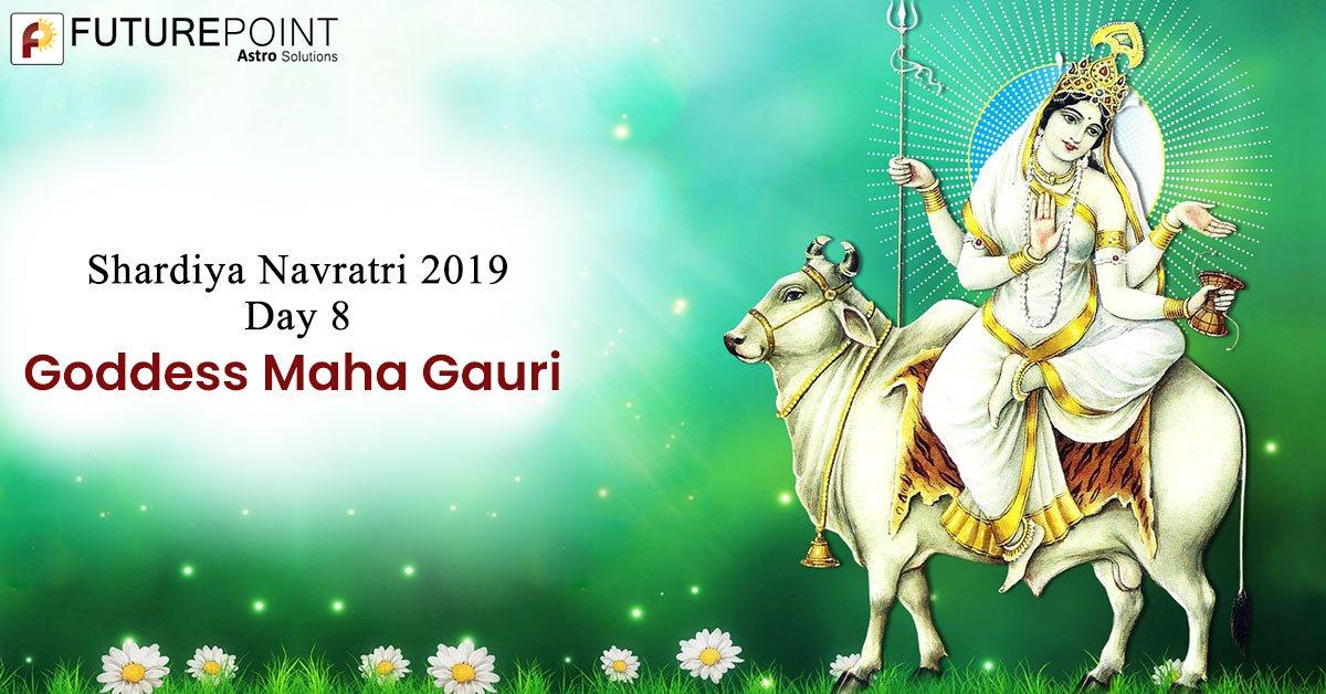 Pujan vidhi of eighth Navratri and kanya pujan
