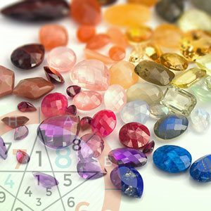 8 lucky gemstones based on numerology