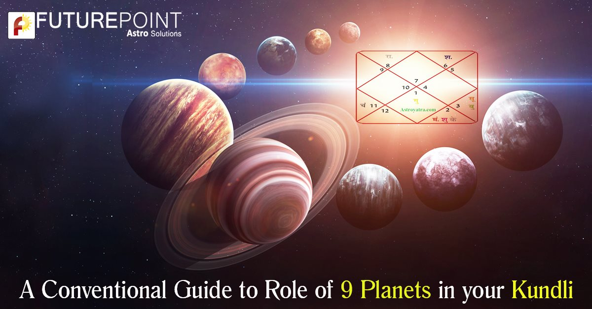 A Conventional Guide to Role of 9 Planets in your Kundli