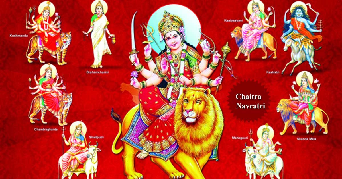 9 Days & 9 Special Colours for each day of Chaitra Navratri