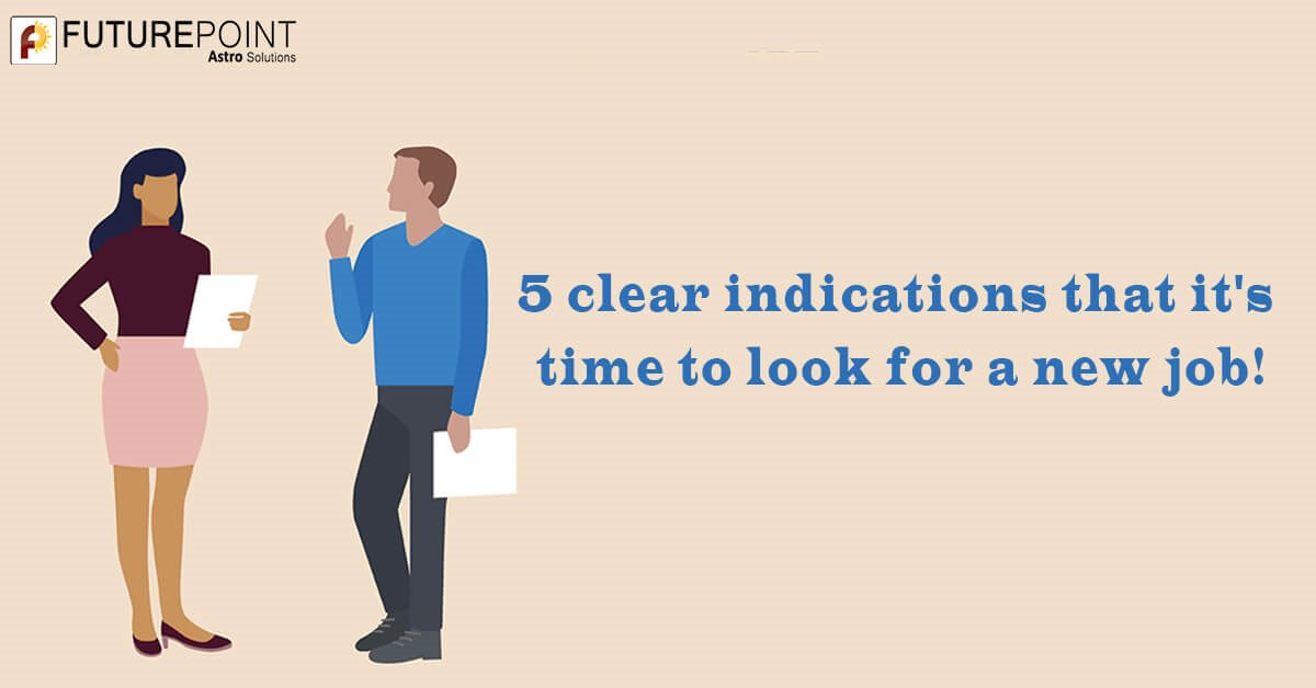 5 clear indications that it