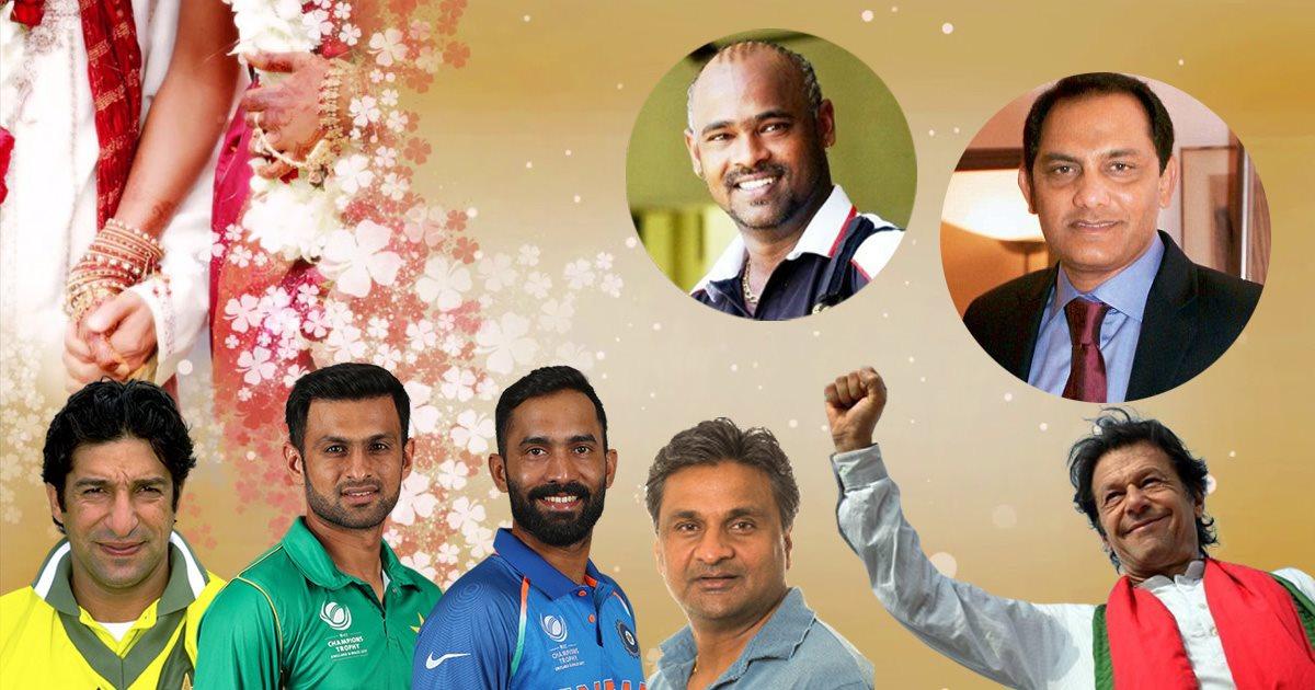 क्रिकेटर्स - जिनकी शादियां विवादास्पद रही