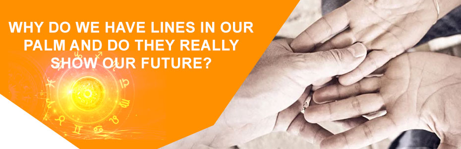 Why do we have lines in our palm and do they really show our future?