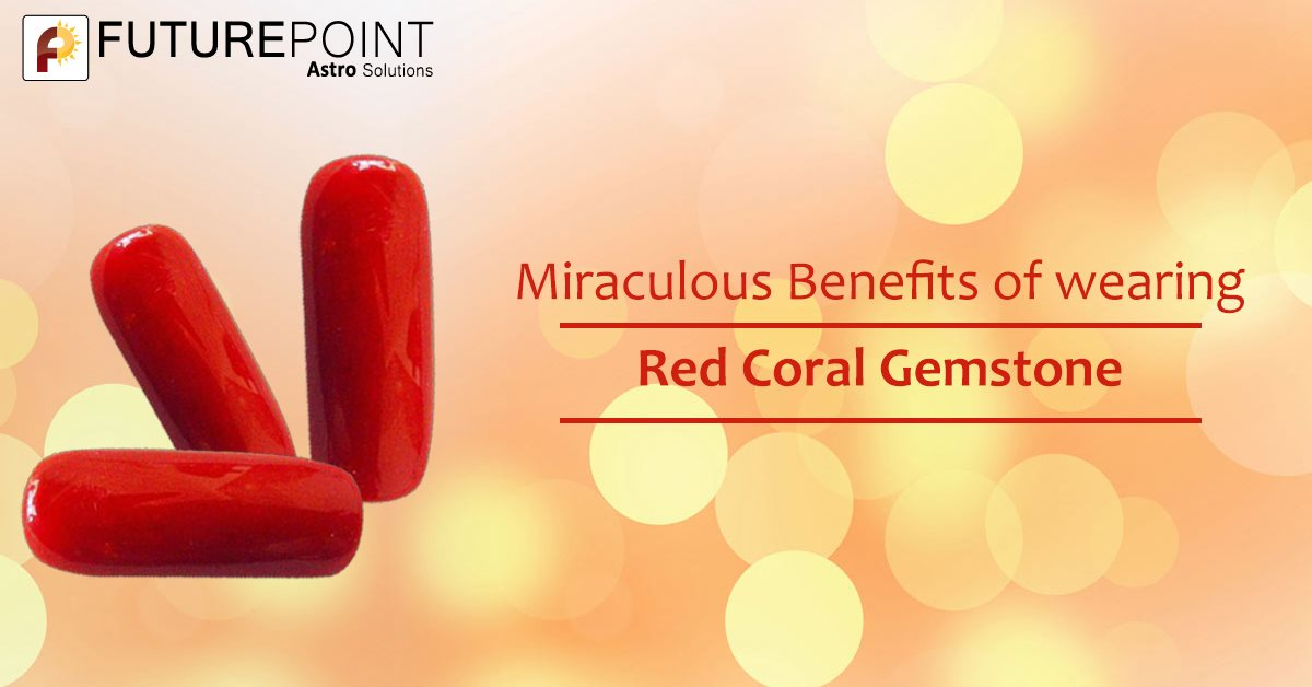 Miraculous benefits of wearing Red Coral Gemstone