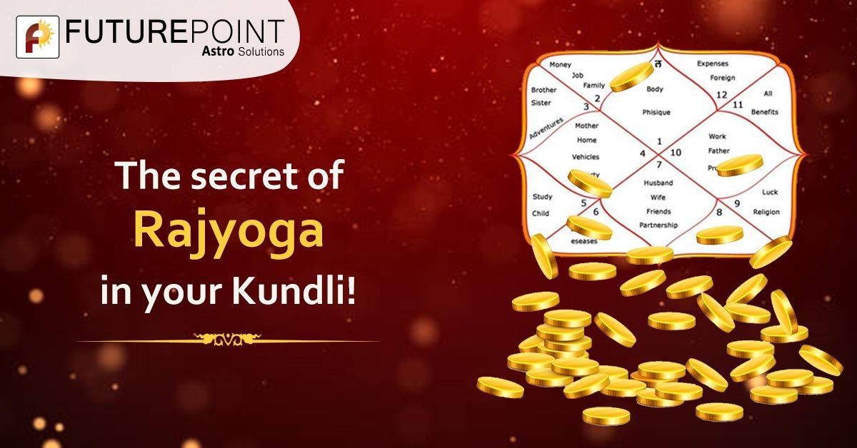 The secret of Rajyoga in your Kundli!