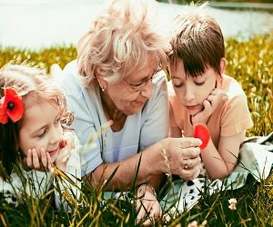 Old Age Care by Children