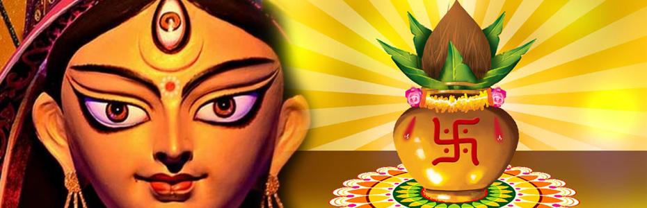 नवरात्र के प्रथम दिन ऐसे करें कलश और घट स्थापना