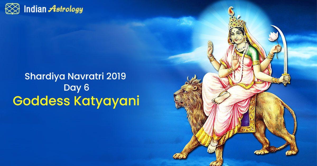 Shardiya Navratri 2019 Day 6: Goddess Katyayani
