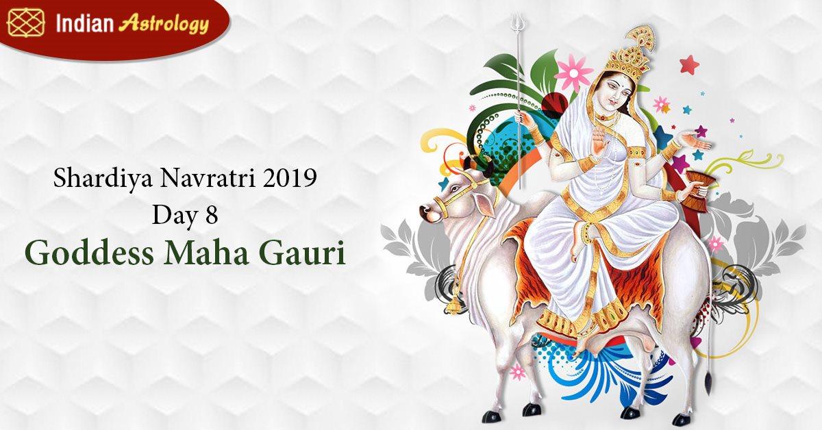 Shardiya Navratri 2019 Day 8: Goddess Maha Gauri