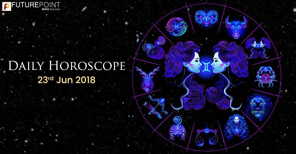 Today Horoscope 23rd-June