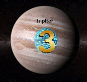 Lucky Number 3 Jupiter