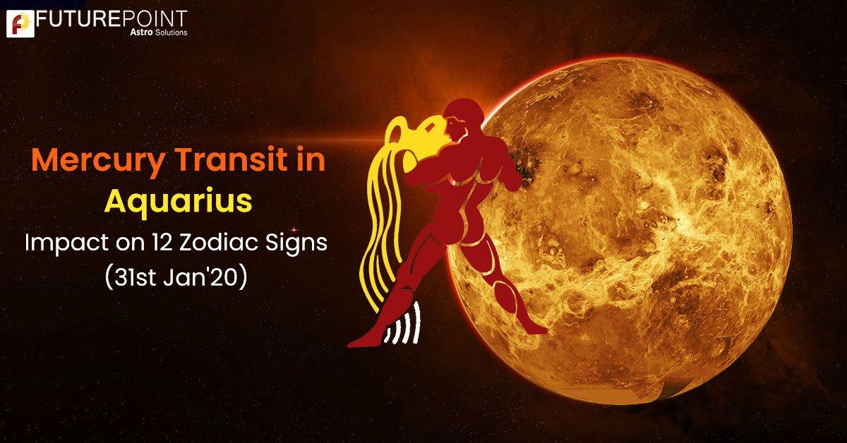 Mercury Transit in Aquarius: Impact on 12 Zodiac Signs