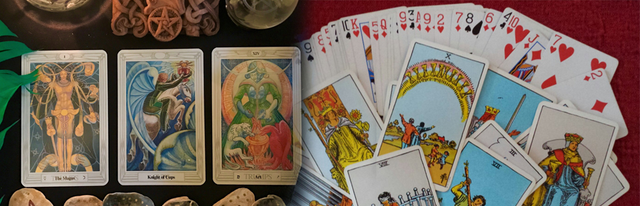 Difference between Cartomancy Readings and Tarot Card Readings