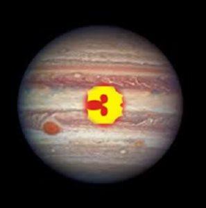 Radical number 3 Jupiter