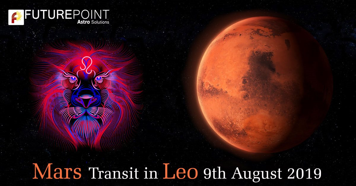 Mars Transit in Leo 9th August 2019
