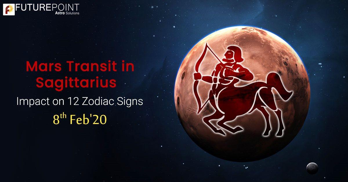 Mars Transit in Sagittarius: Impact on 12 Zodiac Signs