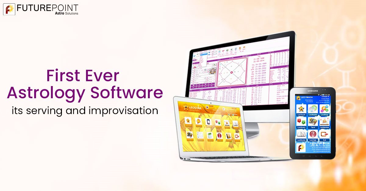 First ever astrology software – its serving and improvisation