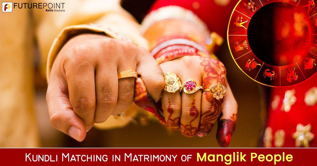 Kundli Matching in Matrimony of Manglik People