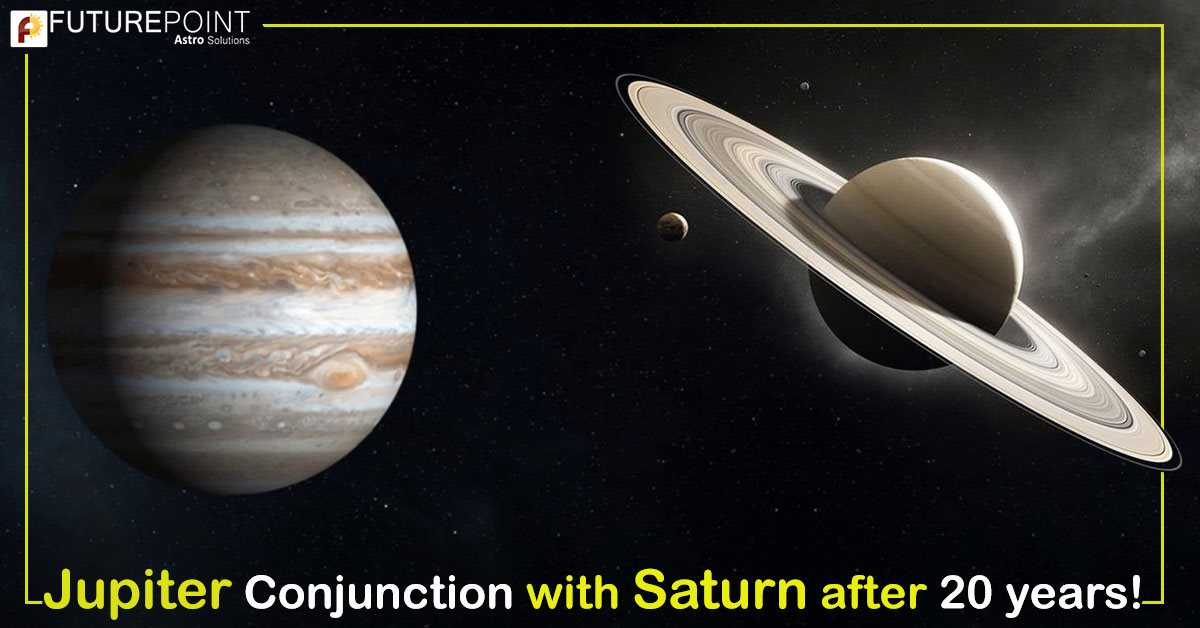Jupiter Conjunction with Saturn after 20 years!
