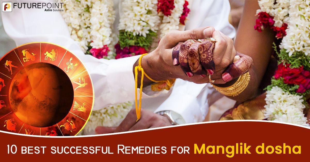 10 best successful Remedies for Manglik Dosha