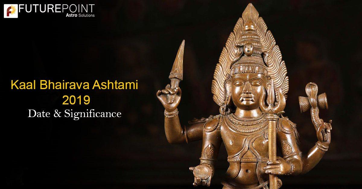 Kaal Bhairava Ashtami 2019: Date & Significance