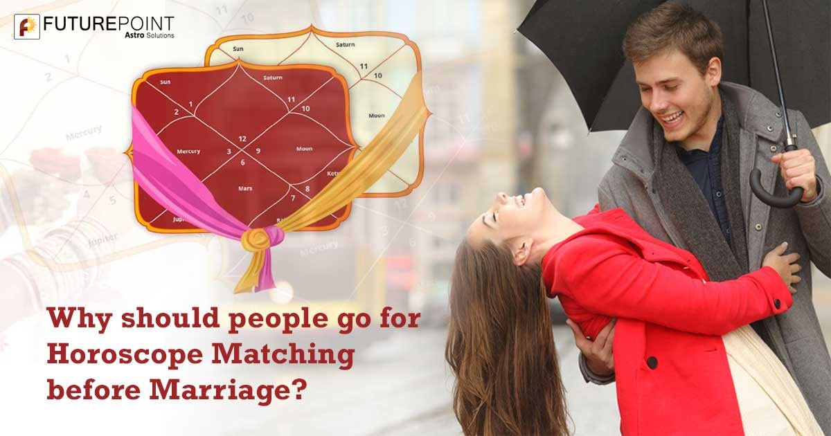 Why should people go for Horoscope Matching before Marriage?