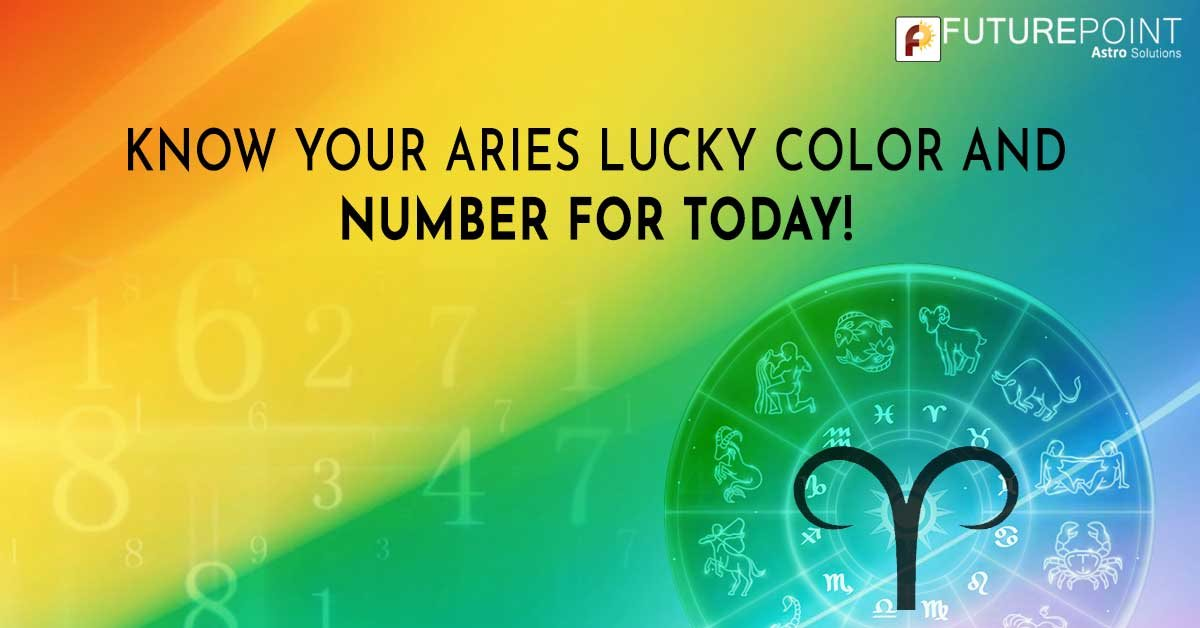 Know Your Aries Lucky Color and Number for Today!