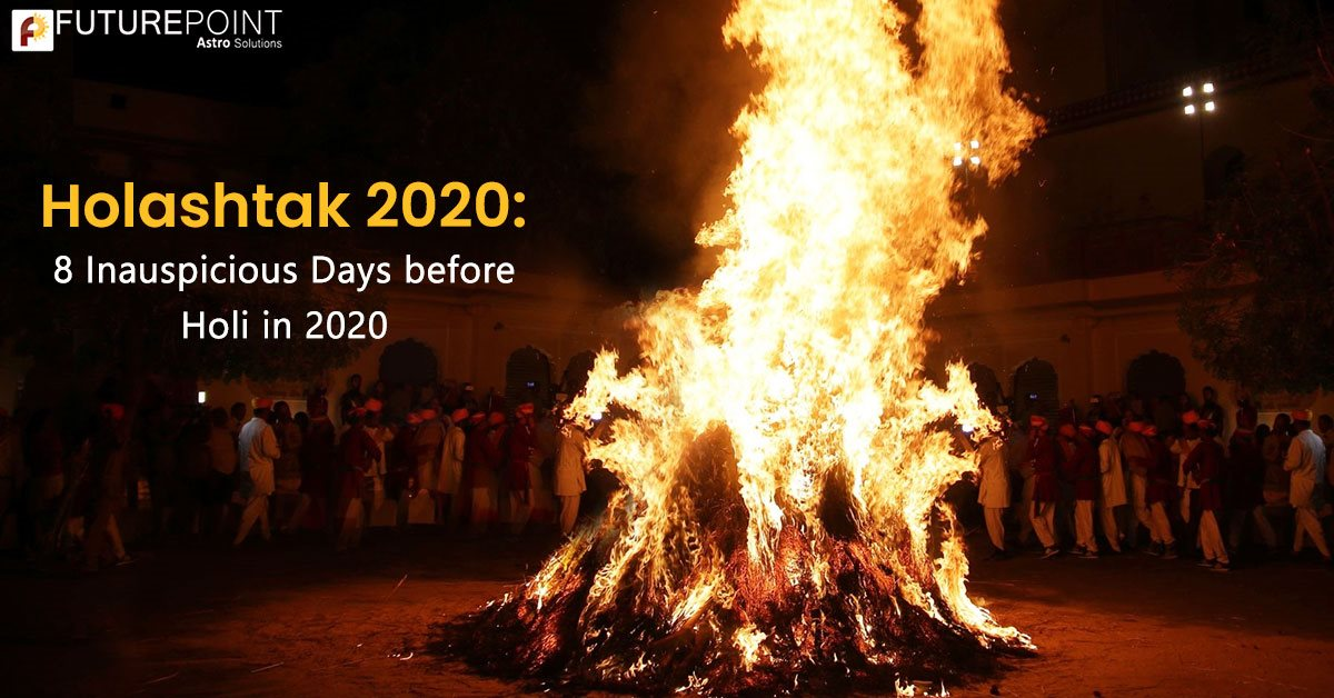 Holashtak 2020: 8 Inauspicious Days before Holi in 2020