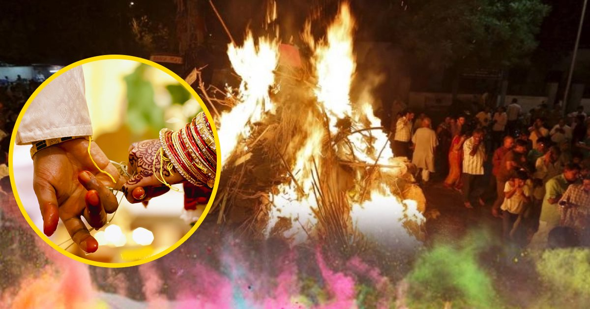 Why the period of Holashtak is considered inauspicious for Marriage?