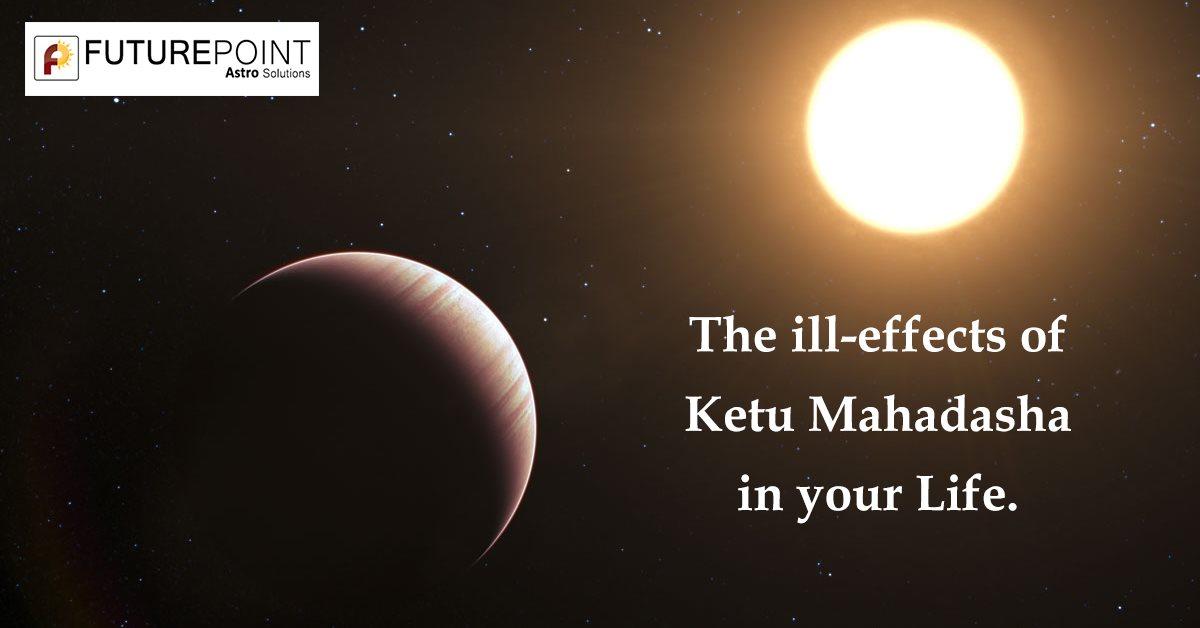 The ill-effects of Ketu Mahadasha in your Life.