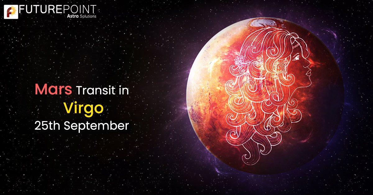 Mars Transit in Virgo 25th September