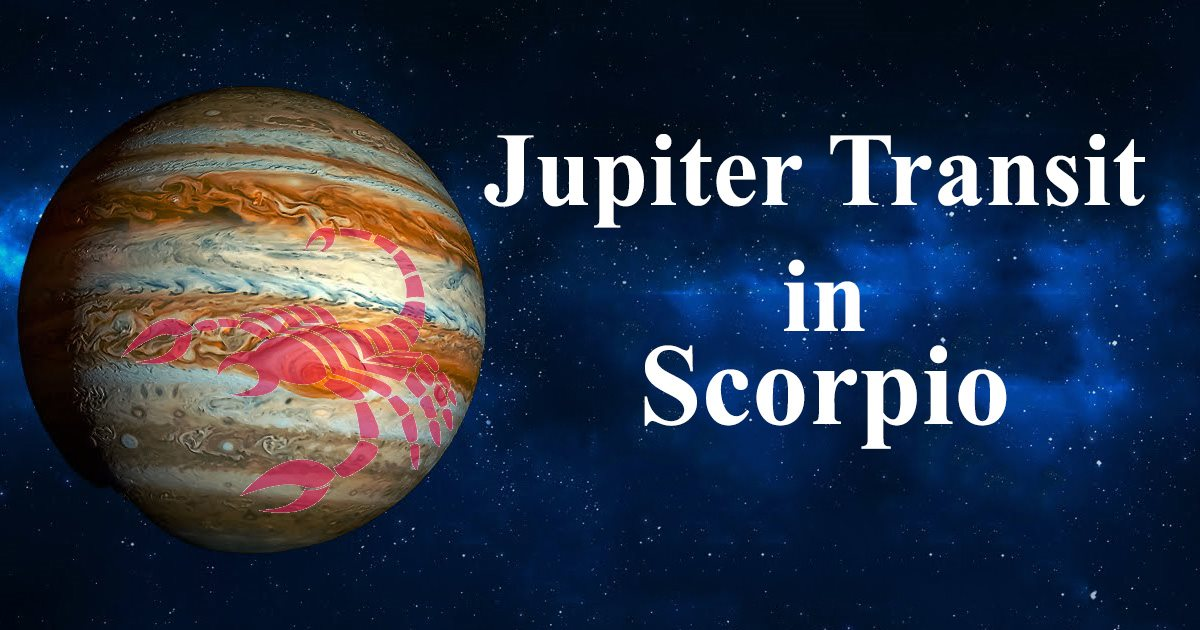 Jupiter Transit: Journey from Scorpio to Sagittarius and back again.