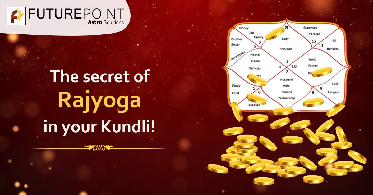 The secret of Rajyoga in your Kundli!