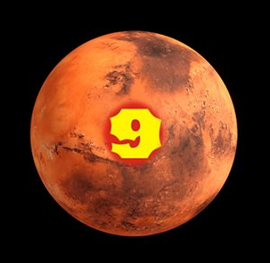 Lucky Number 9 : Mars