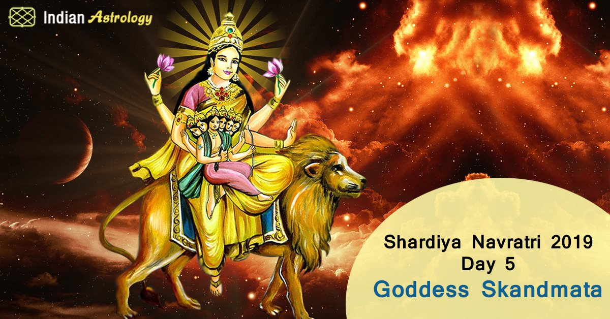 Shardiya Navratri 2019 Day 5: Goddess Skandmata